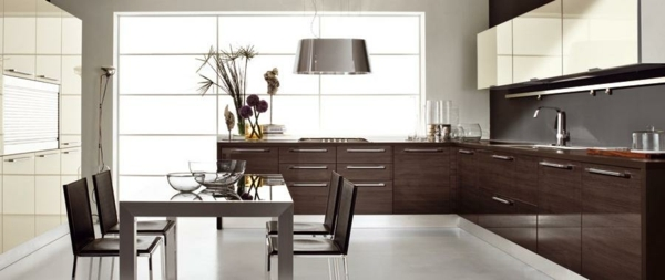 cocina decoracion lujosa madera