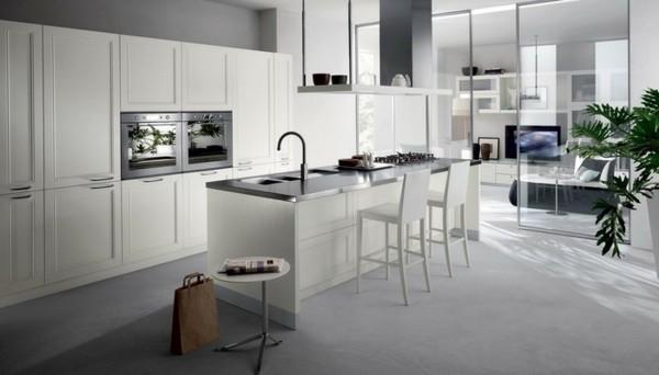 cocina link blanca moderna diseño