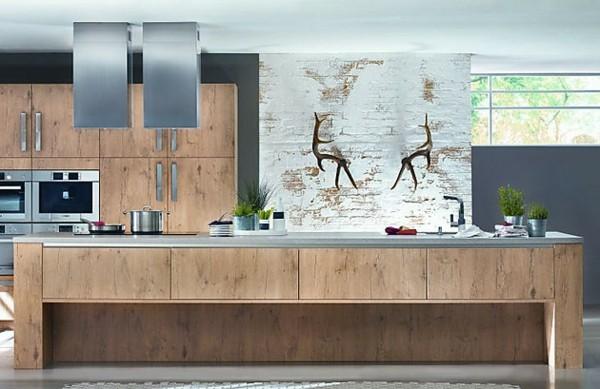cocina moderna cuadro ciervo dos