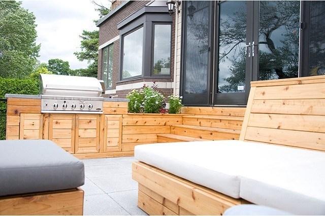 cocina moderno exterior diseño almohadones