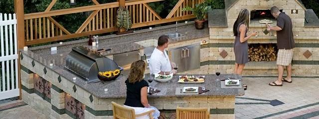 Barbacoas de obra y cocinas exteriores - La casa del barbecue ...