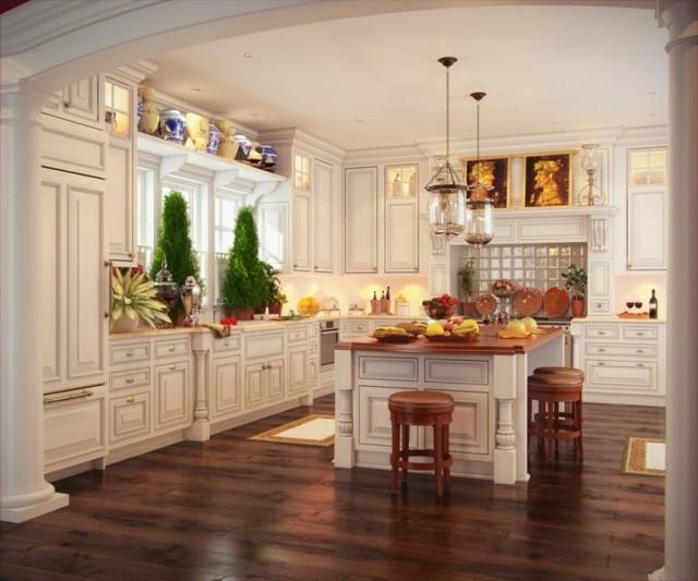 cocina vintage complementos tonos pastel madera
