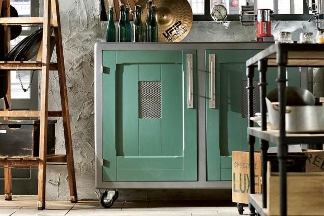 Cocinas vintage para las personas modernas for Muebles de cocina vintage