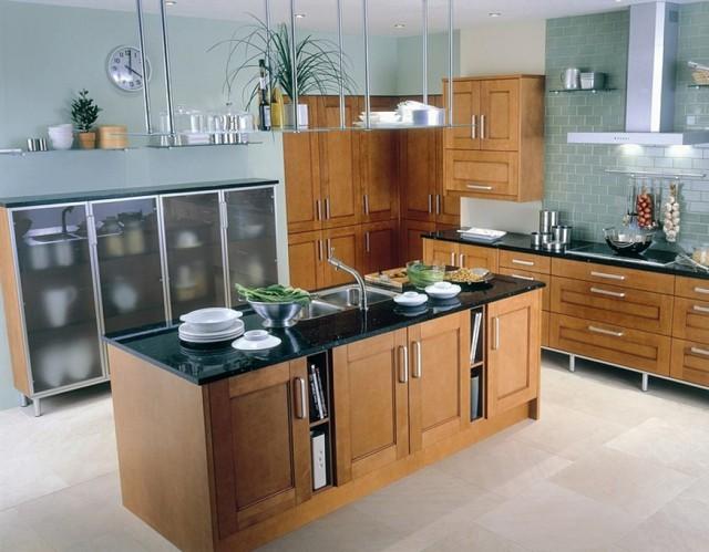 Cocinas con islas de dise o moderno for Diseno de cocinas modernas con isla