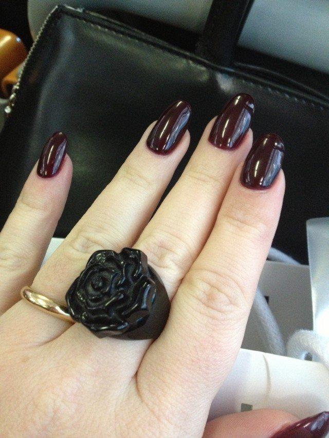 color gama marron oscuro moderno elegante