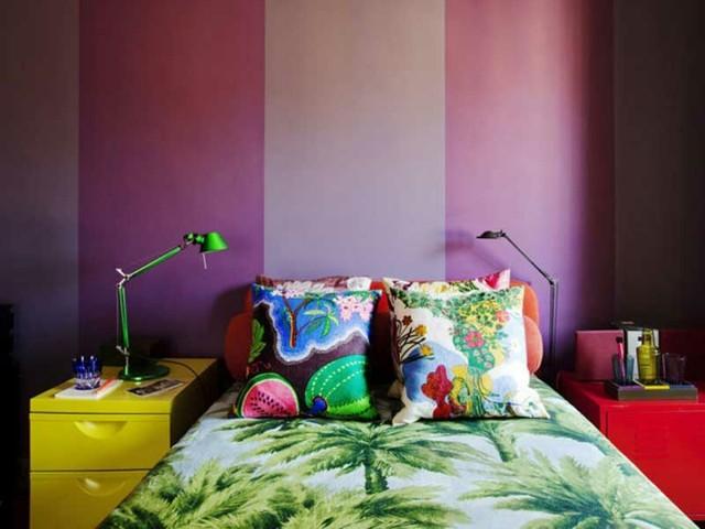 colorido lampara muebles accesorios cojines