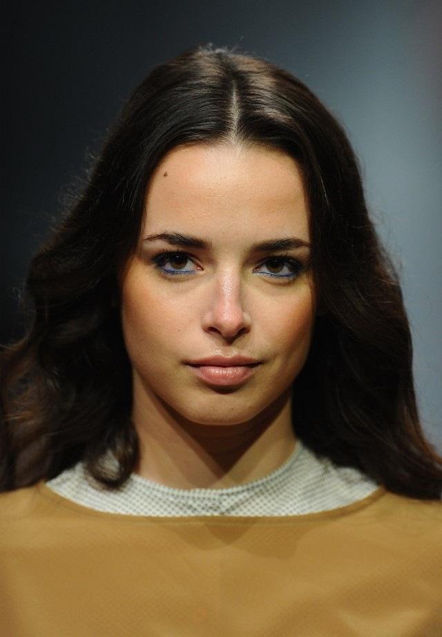 ojos lapiz azul moderno bonito interesante