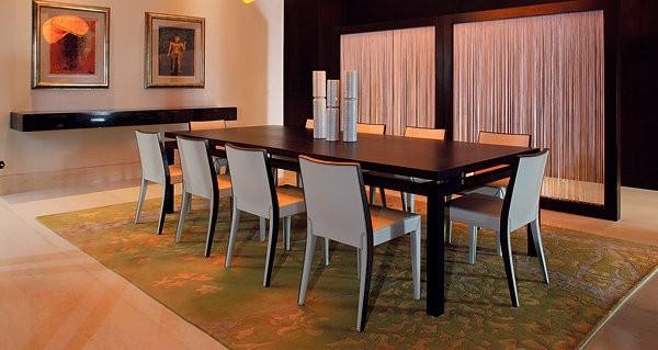 Muebles de comedor en el sal n para las cenas especiales for Comedor moderno minimalista