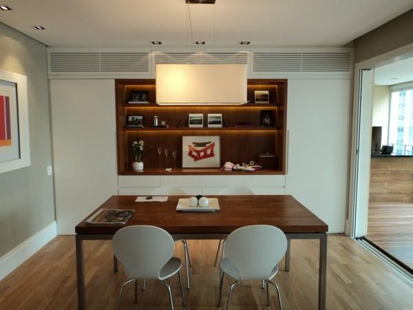 comedor minimalista mesa madera sillas