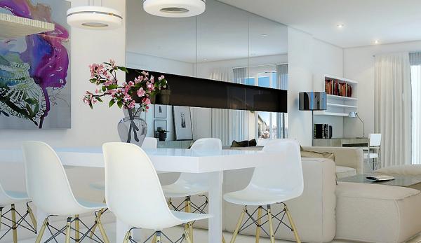 Comedores modernos para las cenas con mucha clase for Comedor moderno minimalista