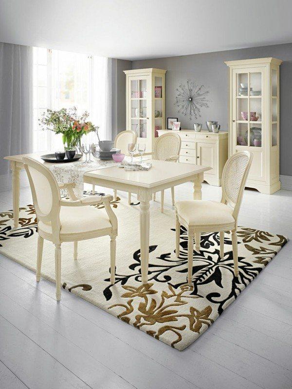 Muebles de comedor en el sal n para las cenas especiales for Muebles estilo clasico moderno