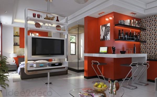 Comedores modernos para las cenas con mucha clase - Salon pour petit espace ...