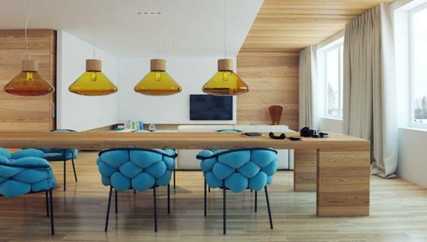 Trendy dining room chairs