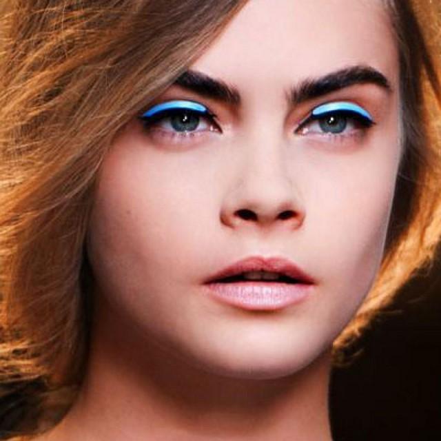 cómo  maquillarse idea interesante innovadora primavera