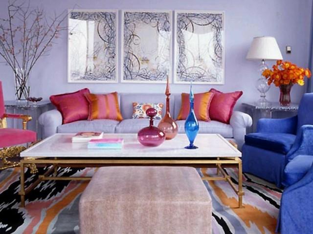 confortabla colorido azul moderno rojo alfombra muebles