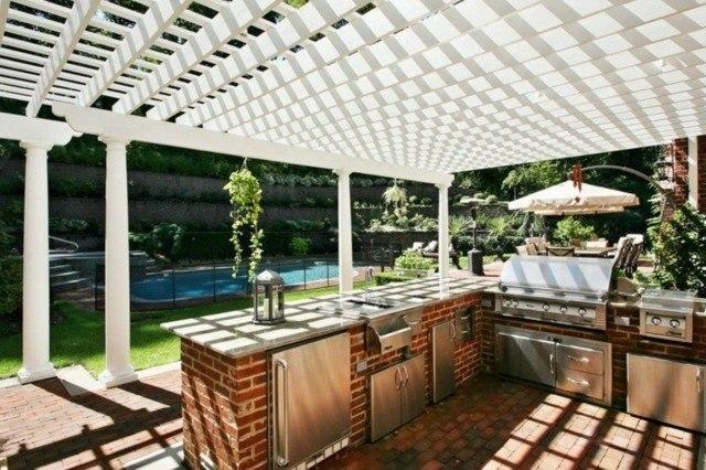 Cocinas modernas al aire libre