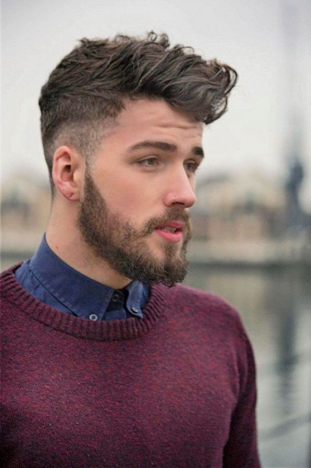 cortes de pelo hombre tupe bonito moderno