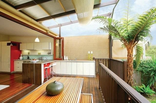 cocinas modernas  idea creativa exterior interior