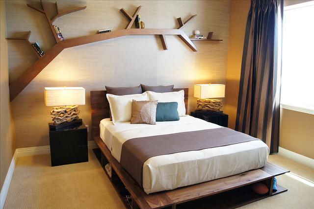 estanterias para libros ideas originales. Black Bedroom Furniture Sets. Home Design Ideas