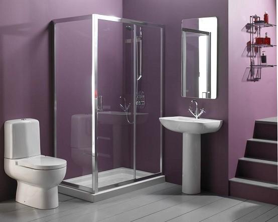 cristal moderno diseño mueble monocromatico