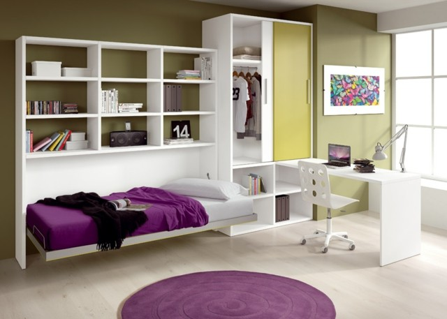 Habitaciones juveniles para chicas adolescentes for Ideas para decorar cuarto de jovenes