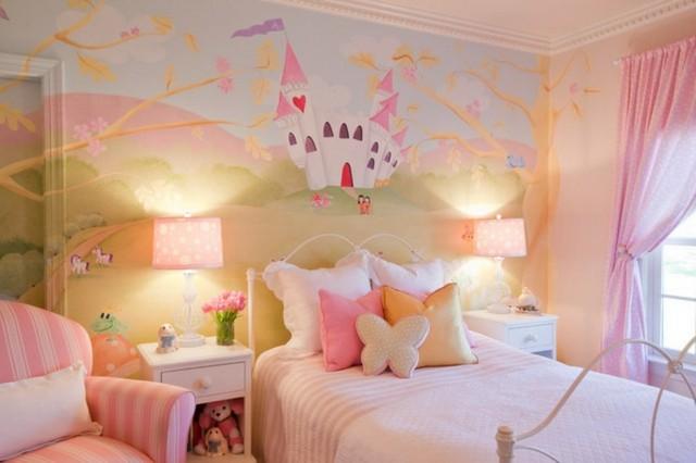 cuarto de niña estupendo colores