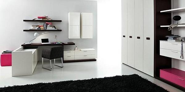 cuarto escritorio habitacin juvenil negro dormitorio with sillon para dormitorio juvenil