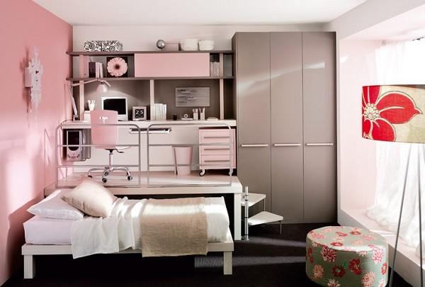 cuarto escritorio planta alta rosa