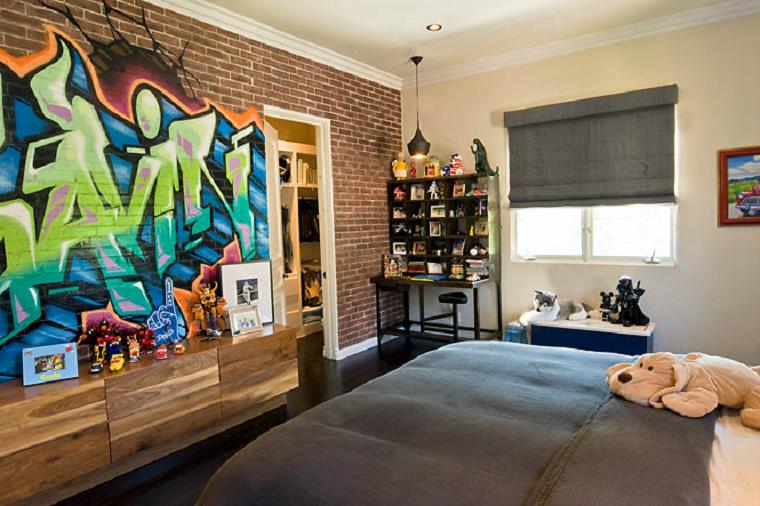 Muebles juveniles para dormitorios de adolescentes for Cuarto para jovenes