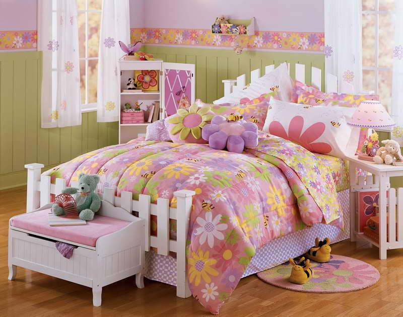 Habitaciones infantiles, un mundo de color rosa