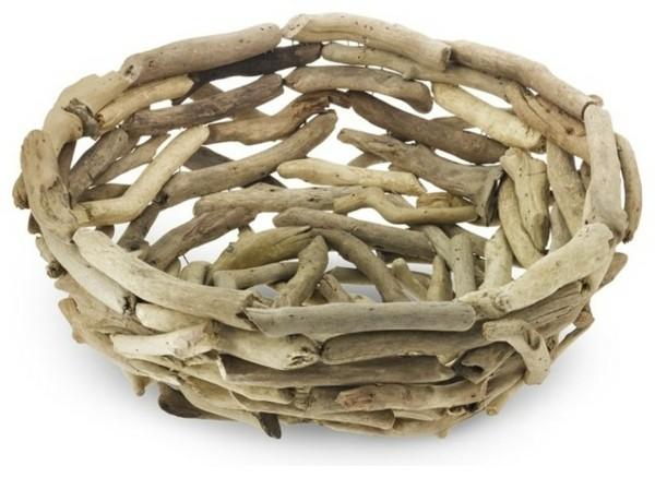 cuenco madera de deriva original
