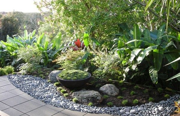 decoración jardín paisajismo macetero