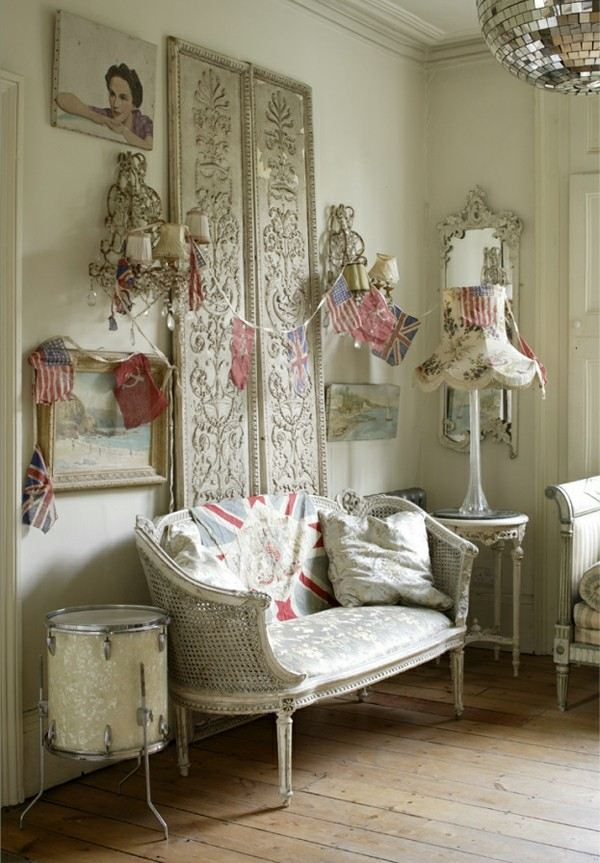 Dise o shabby chic para espacios interiores for Photo shabby chic