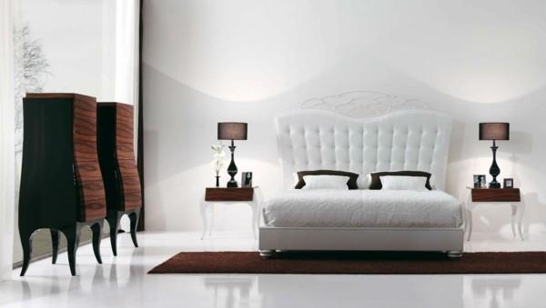 decoración de habitaciones modernas cama