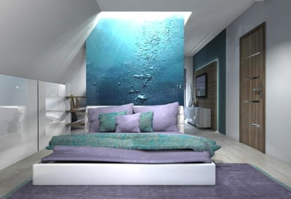 decoración de habitaciones agua