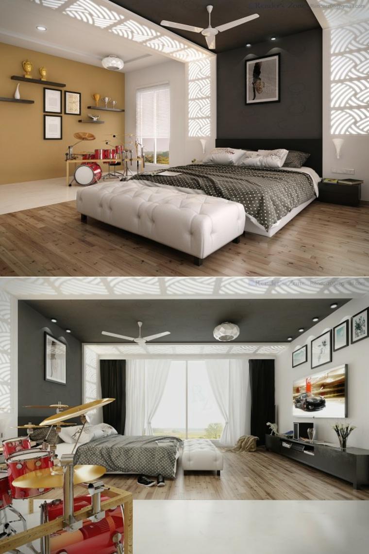 Decoraci N Dormitorios 80 Ideas Que Le Dejar N Sin Aliento ~ Diseño De Habitaciones Modernas