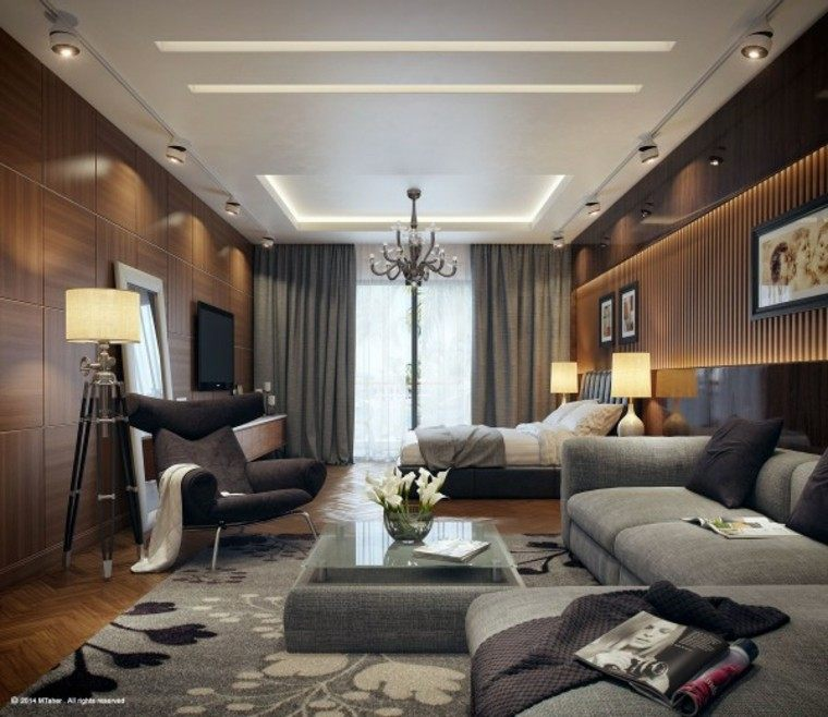 decoración diseño dormitorio salita sofa