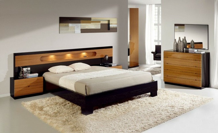 decoración para dormitorio grande moderno