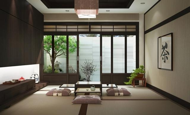 decoración de interiores pocos bonito pared gris