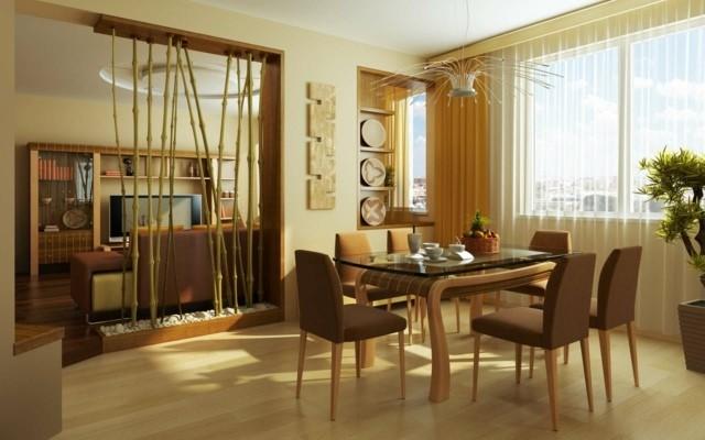Decoraci n de interiores dise o oriental y estilo zen for Comedor oriental