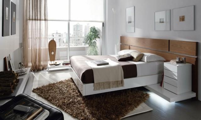 decoración de dormitorios habitacion moderna plantas