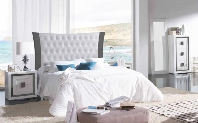 decoración de dormitorios ideas moderno iluminacion