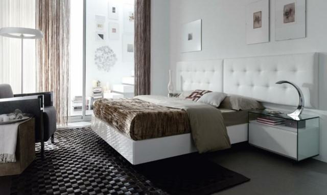 decoración de dormitorios lampara ideas moderno