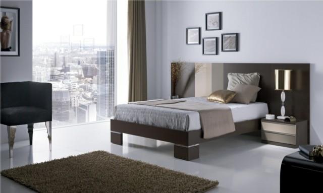 decoración de dormitorios ventanas muebles lamparas