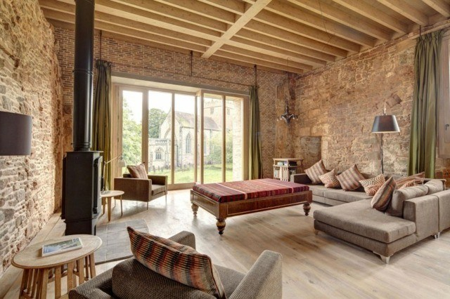 decoracion de interiores comodo agogedor madera moderno