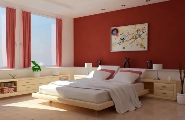 decoracion habitaciones textiles mobiliario cama madera