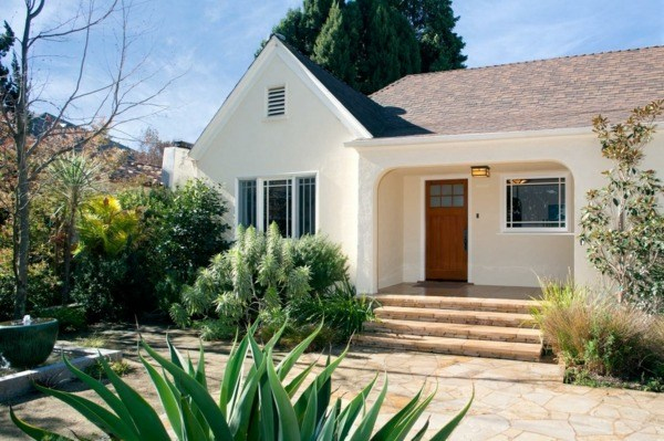 decoracion paisajes bonitos minimalista plantas voluminosas casa