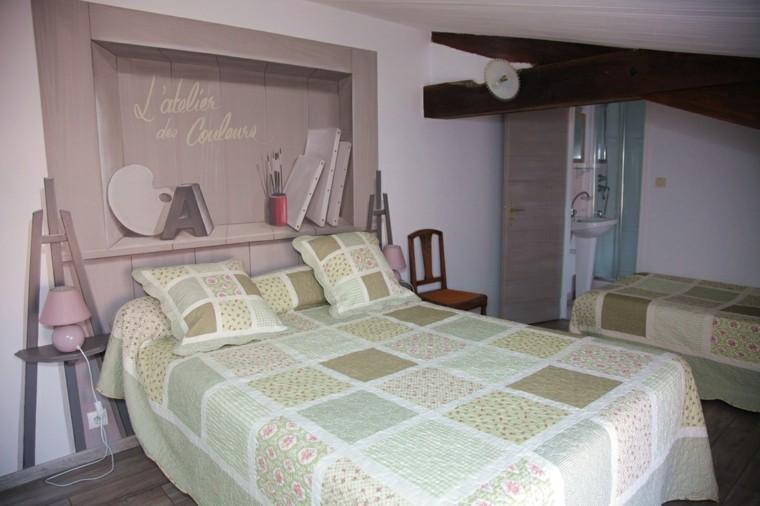 decoración deseño dos camas juveniles