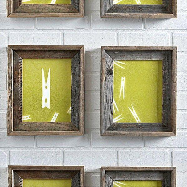 decorar paredes siluetas pintadas spray sobre papel