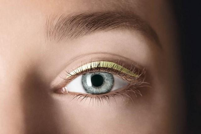 ojos pastel amarillo delineador idea nueva